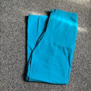 XS Small Blue Scrub Pants
